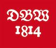 Logo DBW vit röd.indd
