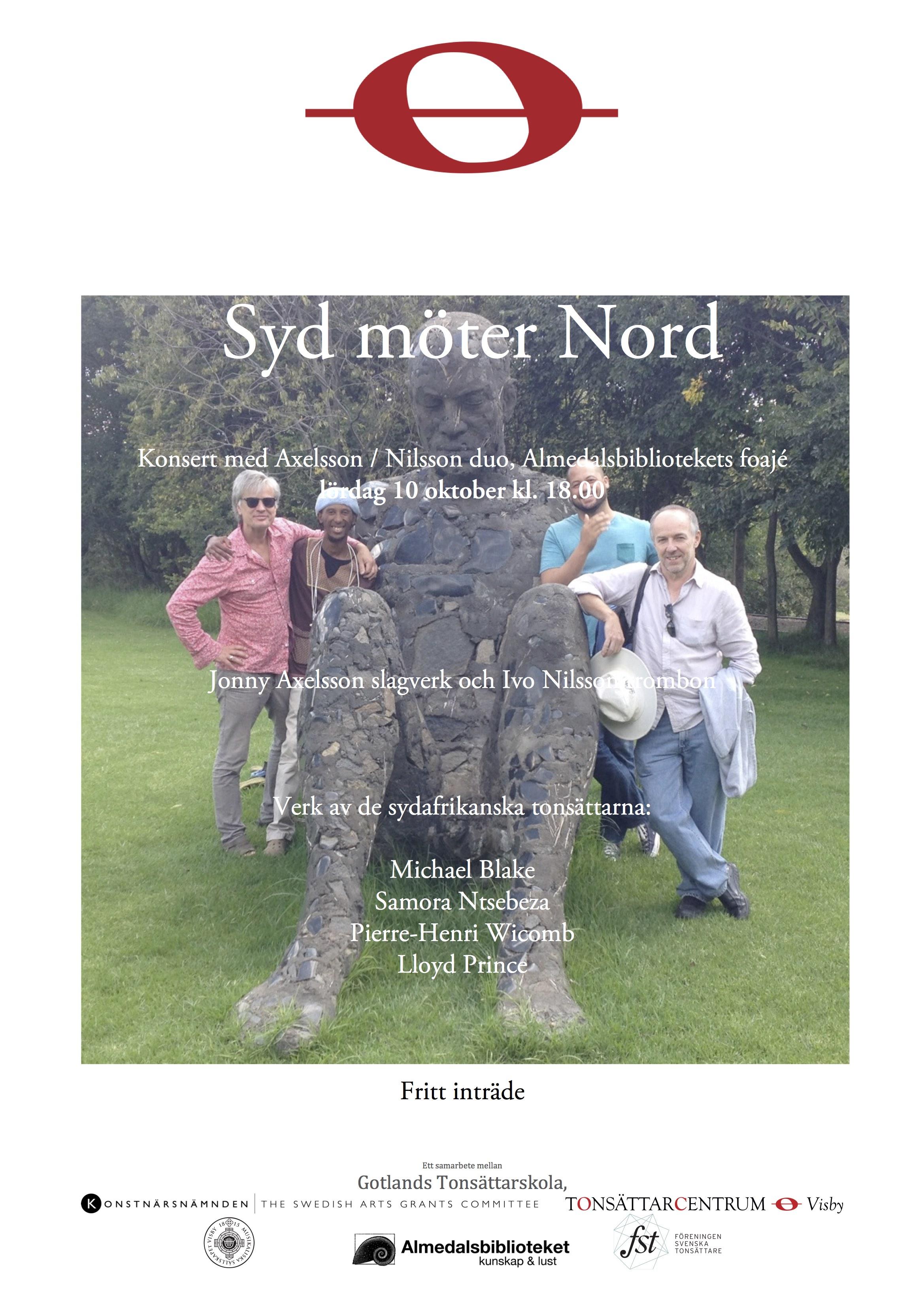 Syd-möter-nord-affisch