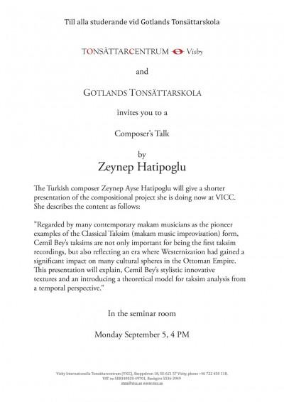 2016-09-09 Zeinep Hatipoglu